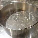 Cercle à pâtisserie réglable