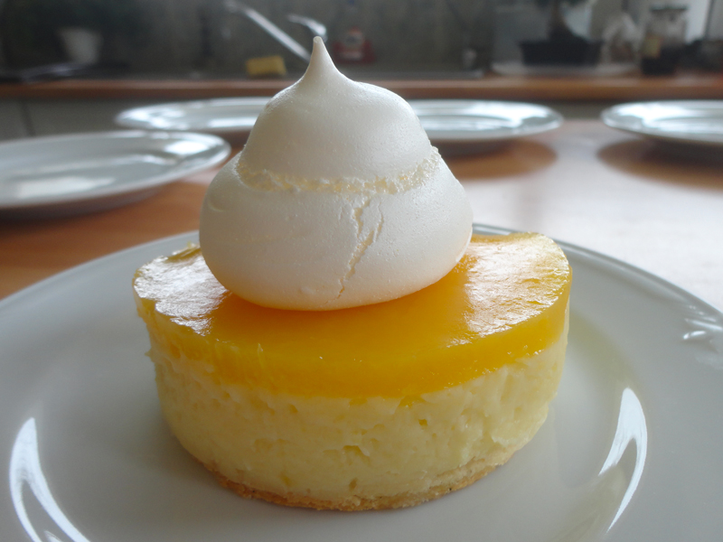 Tarte citron et orange meringuée