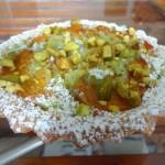 Tartelette abricots pistache