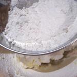 Pâte sablée coco