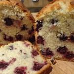 Cake amandes et mûres sauvages