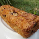 Pudding de pain sec rhum banane raisins