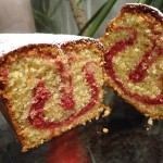 cake vanille framboise