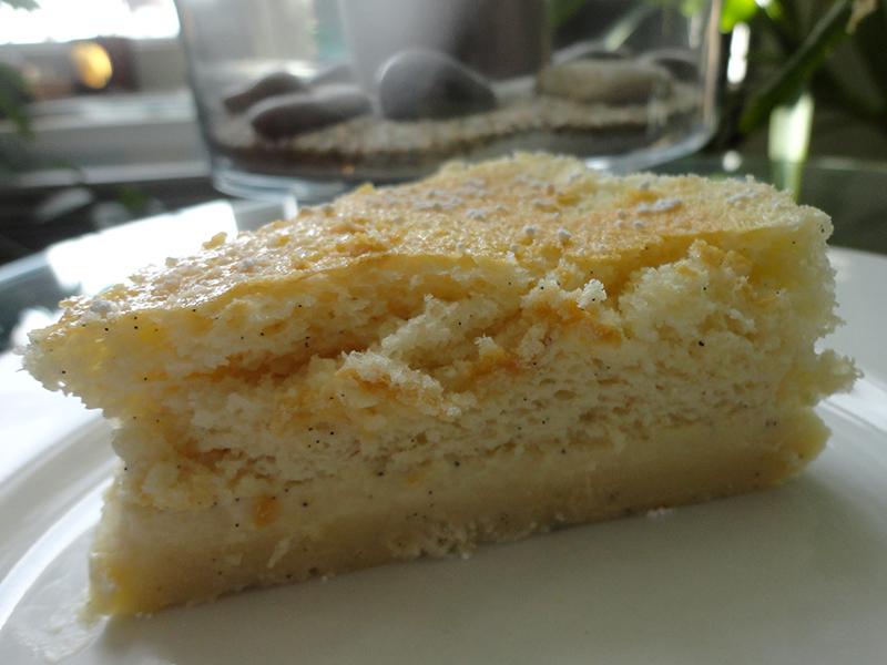 Gâteau magique intensément vanille