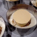 Entremet crème de marrons caramel