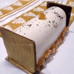 Bûchette marrons vanille