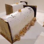 Bûchette crème de marrons vanille