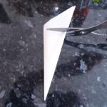 Rond de papier sulfurisé cuisson à blanc