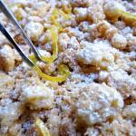 Tarte citron amandes croustillante