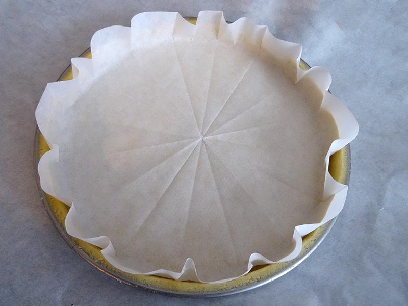 Bien connu Rond de papier sulfurisé pour cuisson à blanc - La cuisine de Thomas QW65