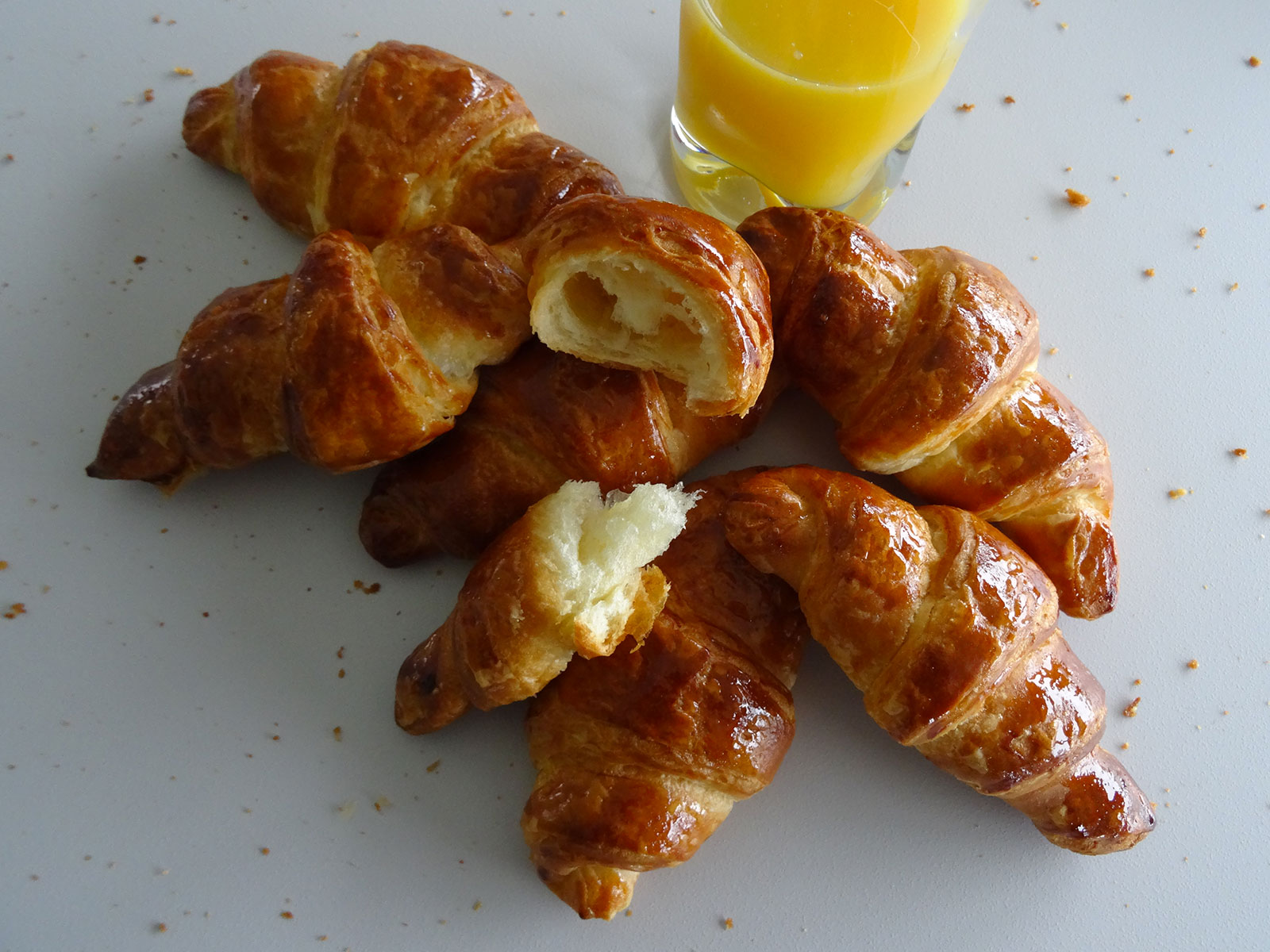 Croissants au beurre version Christophe Felder