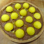Tarte croustillante choco praliné citron