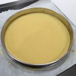 Gâteau basque à la compotée de pruneaux