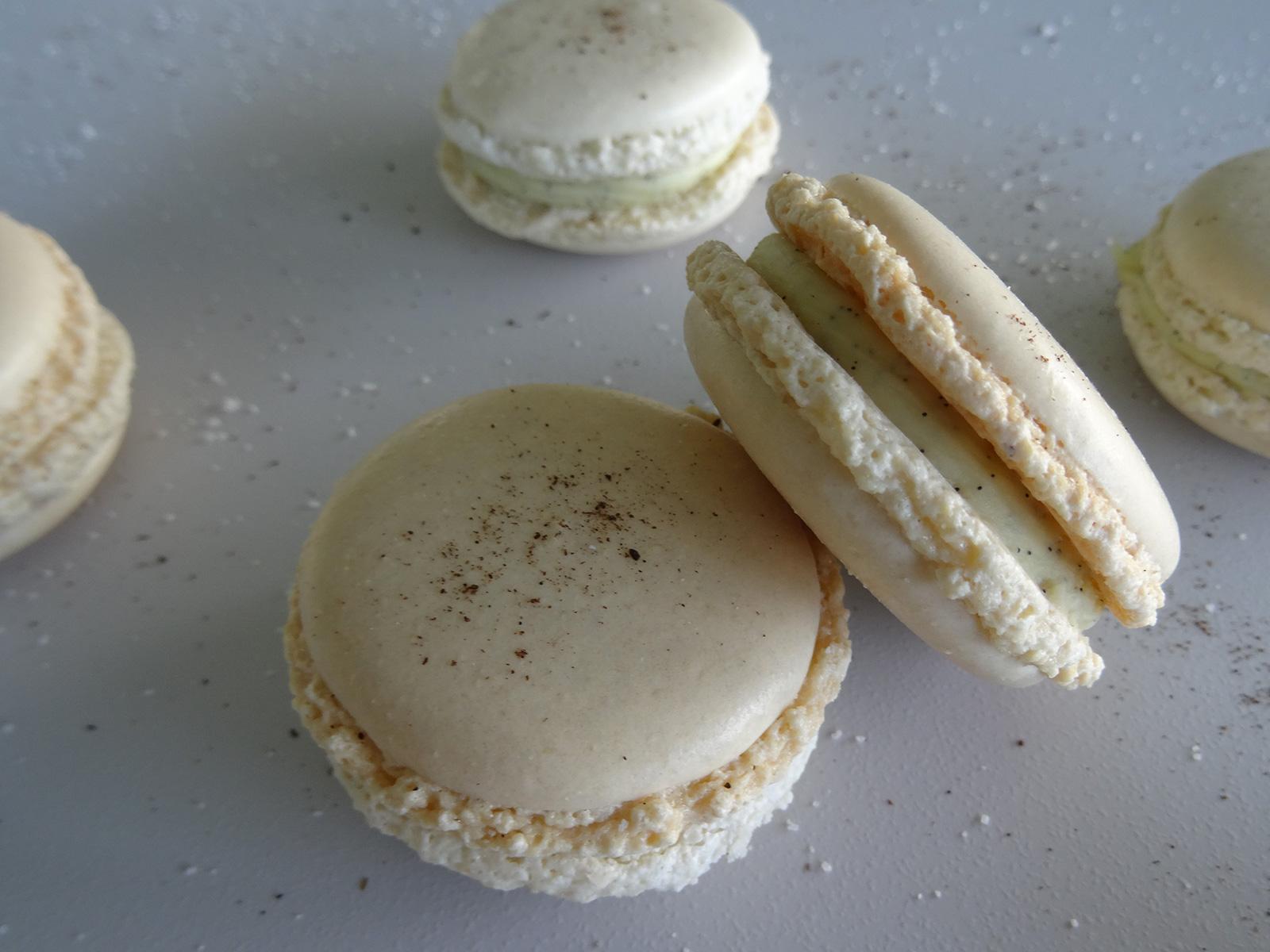 Macarons à la vanille façon Pierre Hermé