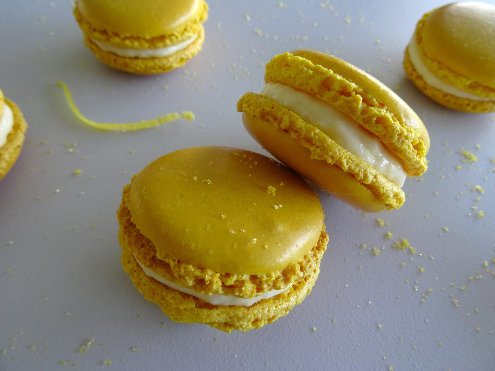 Macarons au citron façon Christophe Felder