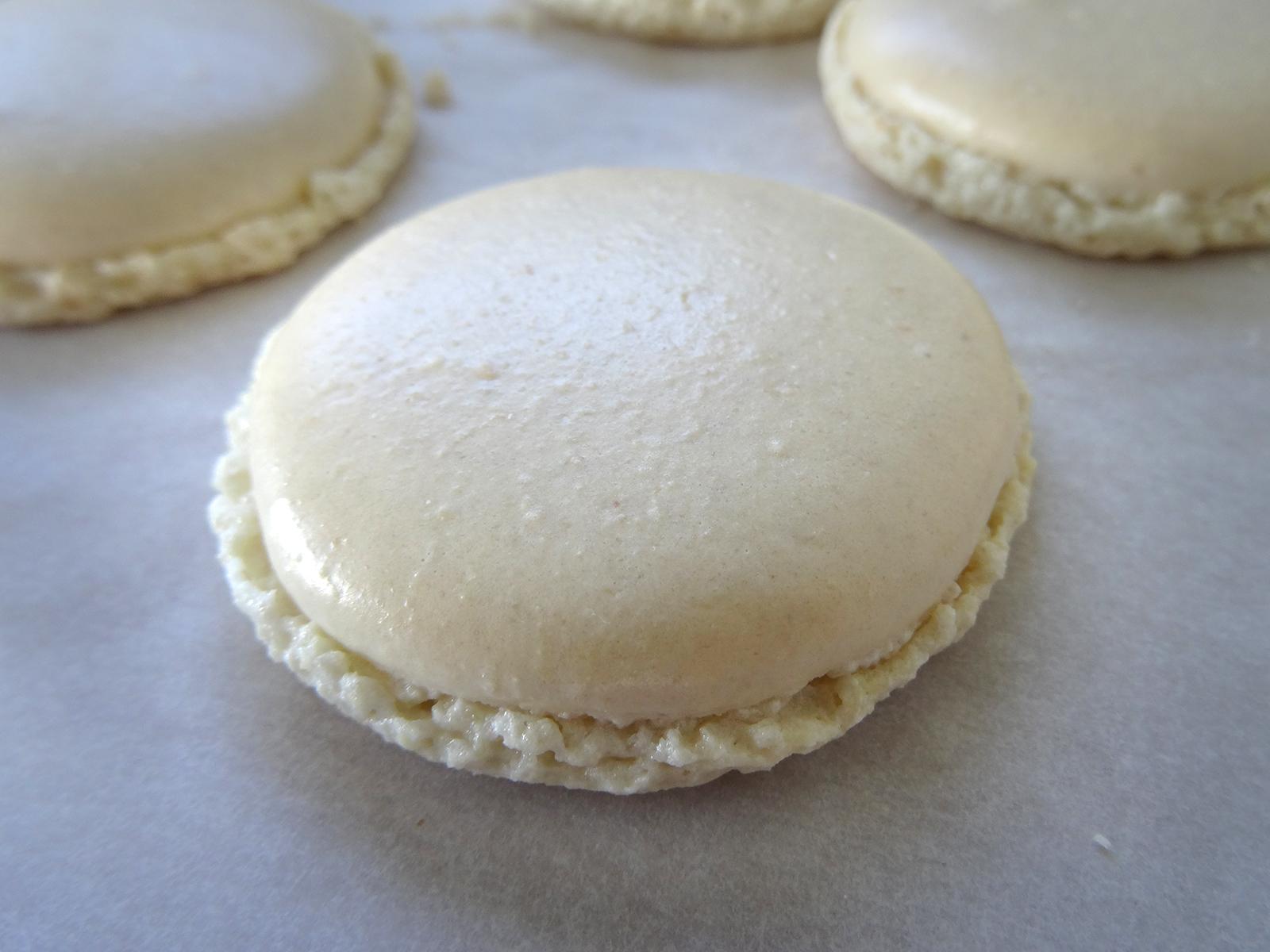 Macarons – recette des coques