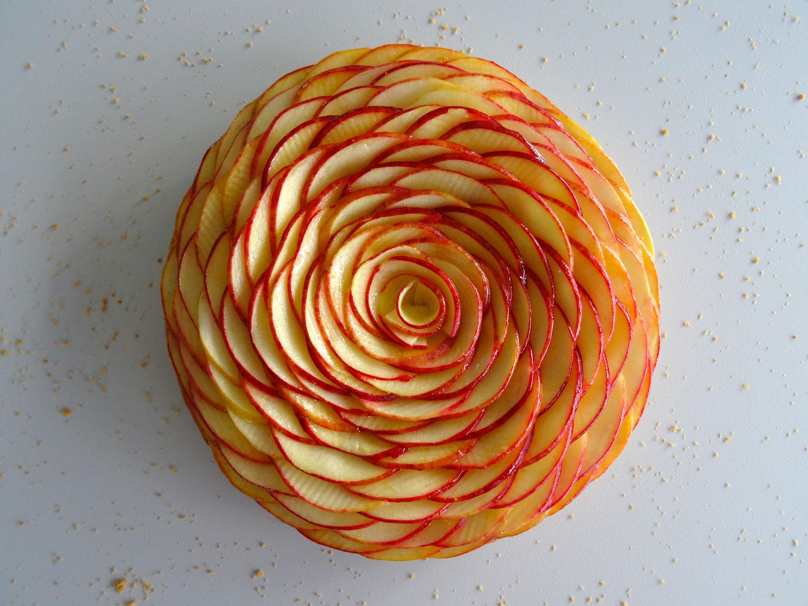Tarte aux pommes façon Cédric Grolet – Fou de pâtisserie
