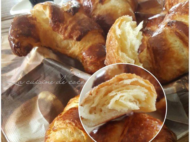 Croissant au beurre de christophe felder la cuisine de - Recette croissant au beurre ...
